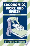Ergonomics Work And Health