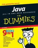 Java All In One Desk Reference For Dummies