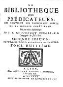 La bibliothèque des Prédicateurs