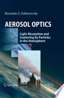 Aerosol Optics