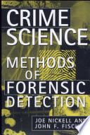 Crime Science  Methods of Forensic Detection Book