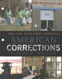 American Corrections   Mindtap Criminal Justice  1 term Access Book PDF