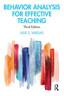 Behavior Analysis for Effective Teaching Pdf/ePub eBook