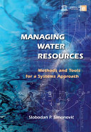 Managing Water Resources Book