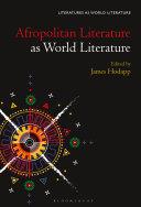Afropolitan Literature as World Literature Book