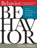 Behavior The Forgotten Curriculum