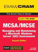 Mcsa Mcse 70 290 Exam Cram Book PDF