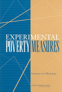 Experimental Poverty Measures