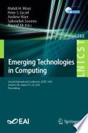 Emerging Technologies in Computing
