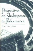 Pdf Perspectives on Shakespeare in Performance