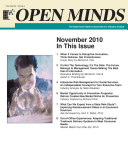 OPEN MINDS  The Behavioral Health   Social Services Industry Analyst  November 2010 Edition