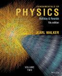 Fundamentals of Physics 10e, Volume 2 + WileyPLUS Registration Card