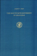 The May Fourth Movement in Shanghai