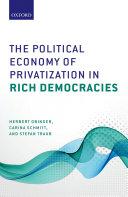 The Political Economy of Privatization in Rich Democracies