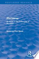 Pluriverse (Routledge Revivals)