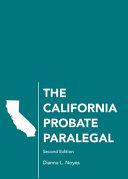 The California Probate Paralegal