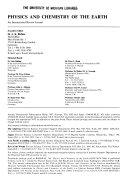 Solid Earth Book PDF