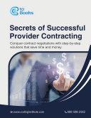 Secrets of Successful Provider Contracting - The Coding Institute