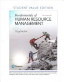 Fundamentals of Human Resource Management  Student Value Edition
