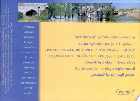 Dictionary of hydrological engineering