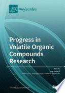 Progress in Volatile Organic Compounds Research
