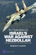 Air Operations in Israel's War Against Hezbollah