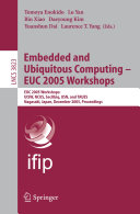Embedded and Ubiquitous Computing   EUC 2005 Workshops