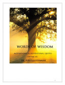 Pdf Words of Wisdom (Volume 33) Telecharger