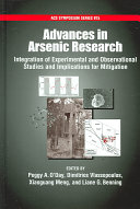 Advances In Arsenic Research Book PDF