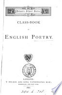 Class-book of English poetry