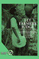Let Farmers Judge Book