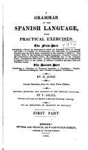 A Grammar of the Spanish Language