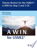 Thieme Review for the USMLE    A WIN for Step 2 and 3 CK