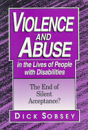 Violence And Abuse In The Lives Of People With Disabilities Book PDF