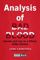 Analysis of Bad Blood