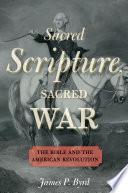 Sacred Scripture  Sacred War
