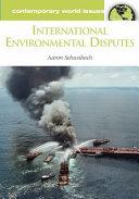 International environmental disputes