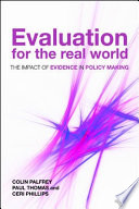 Evaluation for the real world Book