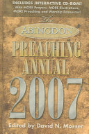 The Abingdon Preaching Annual 2007