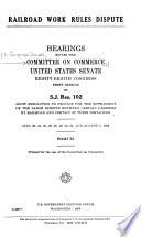 Railroad Work Rules Dispute