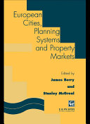 European Cities  Planning Systems and Property Markets