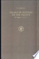 Hilary of Poitiers on the Trinity Pdf/ePub eBook