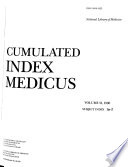 Cumulated Index Medicus Book