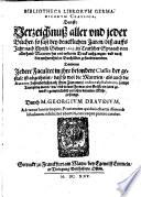 Bibliotheca librorvm Germanicorvm classica