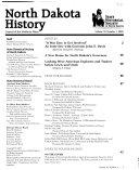 North Dakota History Book PDF