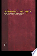 The New Institutional Politics Book