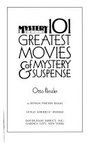 101 Greatest Movies of Mystery   Suspense