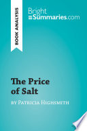 The Price of Salt by Patricia Highsmith  Book Analysis  Book PDF