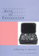 Acts of Possession