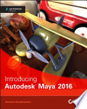 Cover of Introducing Autodesk Maya 2016